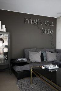 1000+ ideas about Dark Gray Sofa on Pinterest   Grey Sofa ...