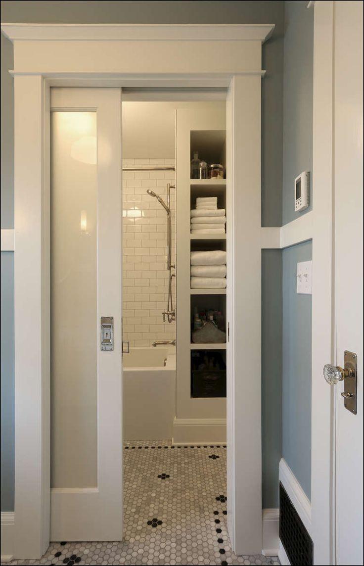 17 Best ideas about Sliding Bathroom Doors on Pinterest