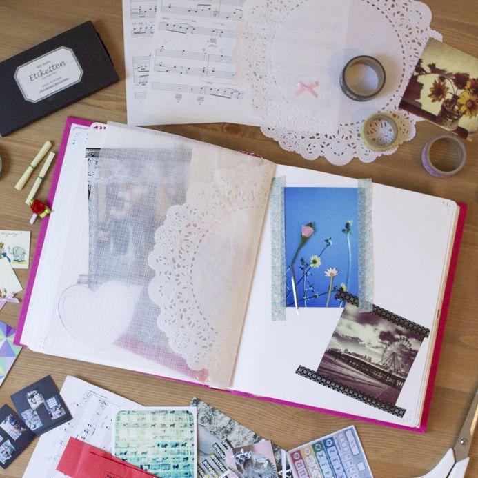 DIY Fotobcher erfundene Geschichten  Ideen fr Bcher zum Selbermachen  eBay and DIY and crafts