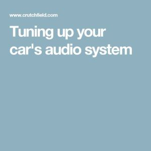 17 Best ideas about Car Audio on Pinterest | Car audio systems, Subwoofer box design and Diy