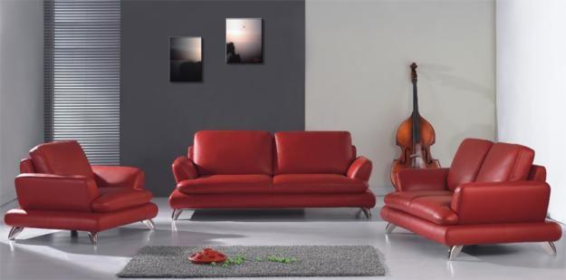 decoracion de salas con muebles rojo  Google Search