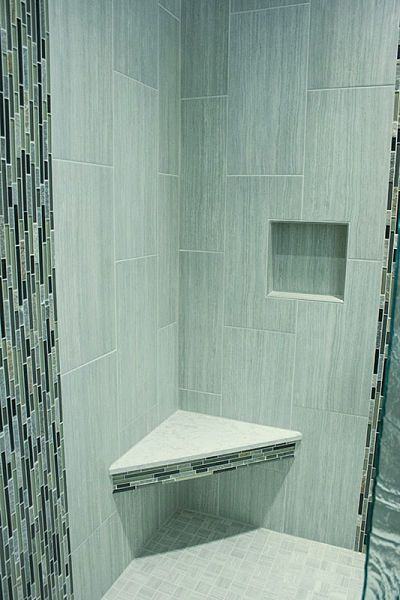 6 Hot New Products for Master Baths  Glass mosaic tiles