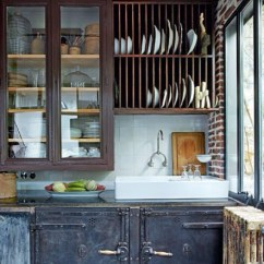 How To Make Kitchen Cabinet Doors Free Standing Larder Cupboards Rustic Industrial Kitchen. Love. | Home: & Dining ...
