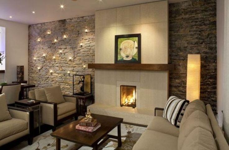 deko ideen furs wohnzimmer deko steinwand wohnzimmer and wohnzimmergestaltung steinwand 80 deko