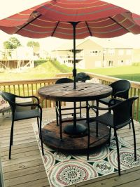 17 Best ideas about Wooden Spool Tables on Pinterest