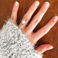For a more natural looking manicure ask for a French gel ...