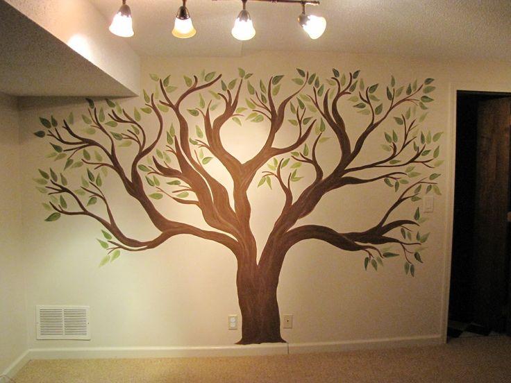 17 Best Ideas About Tree Wall Art On Pinterest