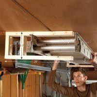 37 best Garage - Ceiling Mounted Storage images on Pinterest