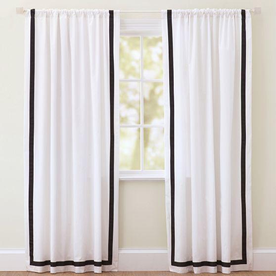 25 Best Ideas About Black White Curtains On Pinterest Stripe