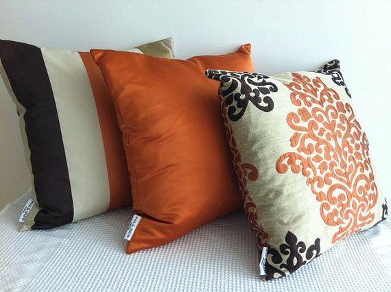 1000 ideas about Orange Throw Pillows on Pinterest  Green Throws Outdoor Throw Pillows and