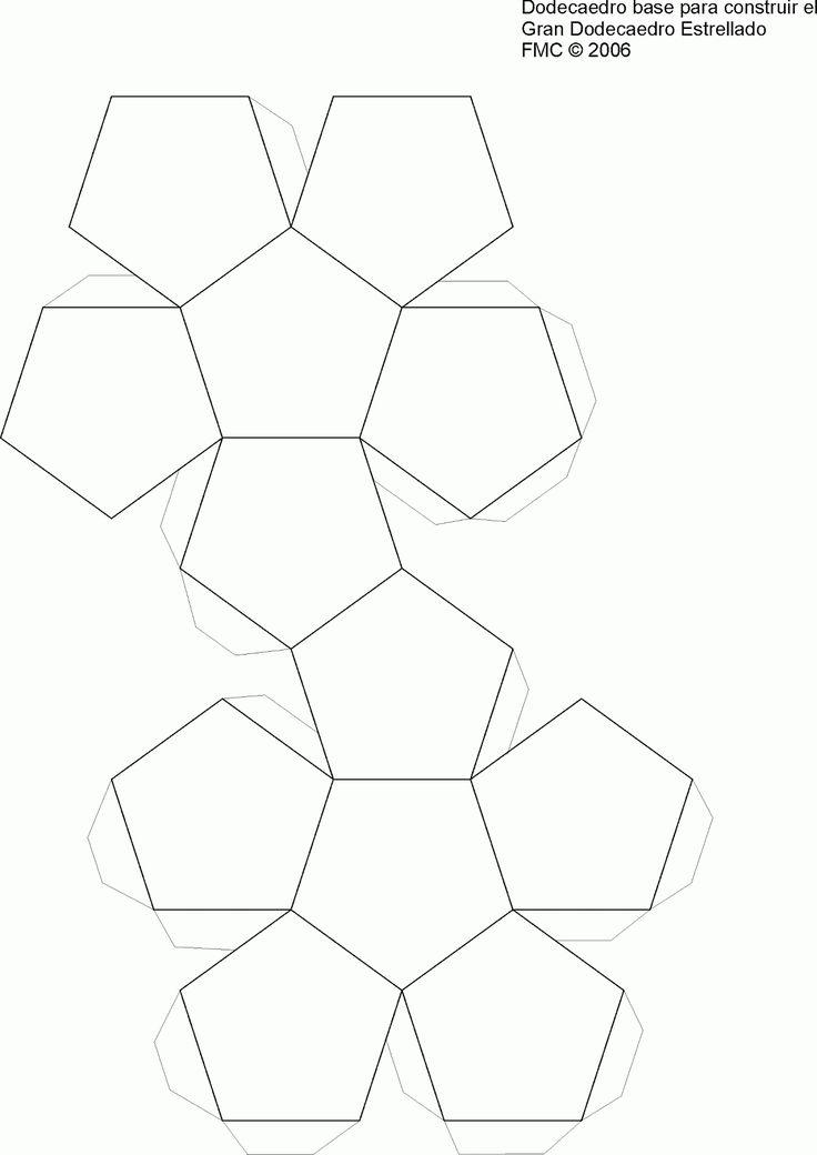 Dodecaedro Para Recortar Y Armar Ajilbabcom Portal