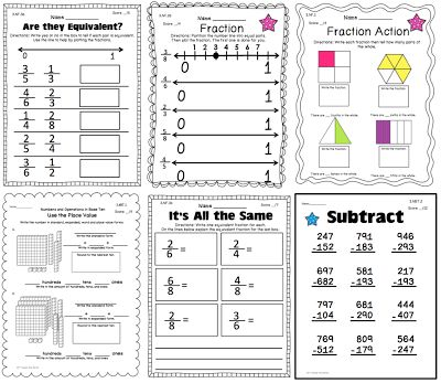 17 Best images about TpT and TN math finds on Pinterest