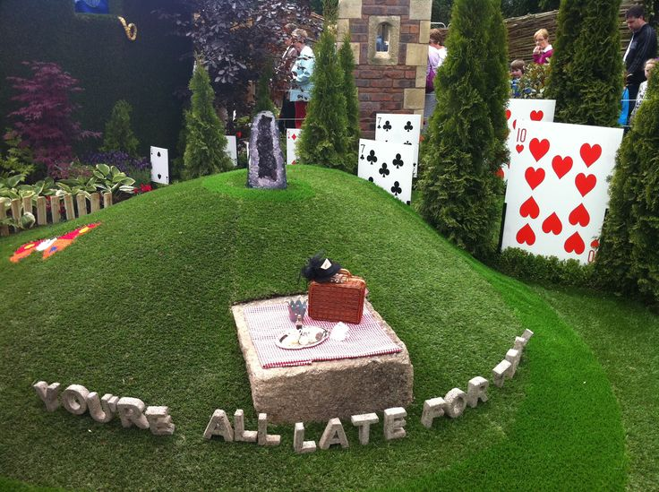 167 Best Images About My Alice In Wonderland Patio Garden On