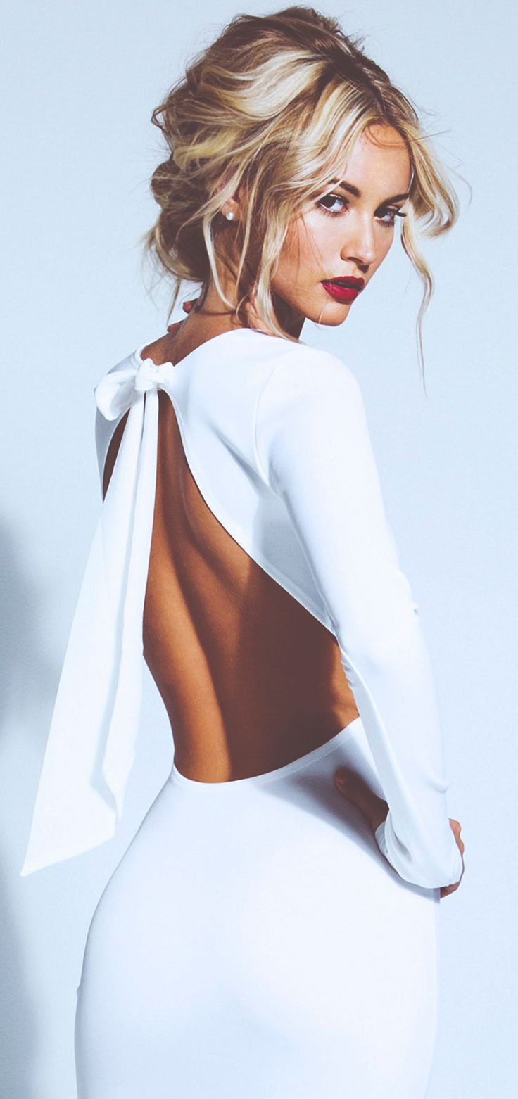 25 Best Ideas About Backless Dresses On Pinterest Backless