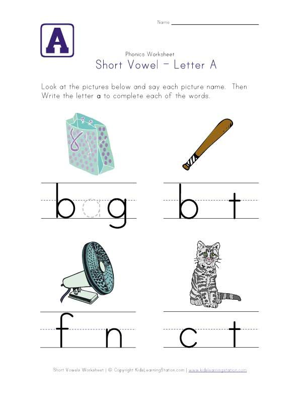 75 best images about READING/WRITING-Short Vowels on