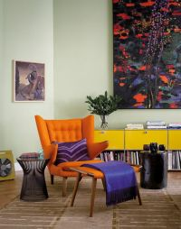 17 Best ideas about Orange Chairs on Pinterest