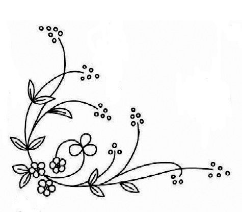 25+ best ideas about Simple Embroidery Designs on