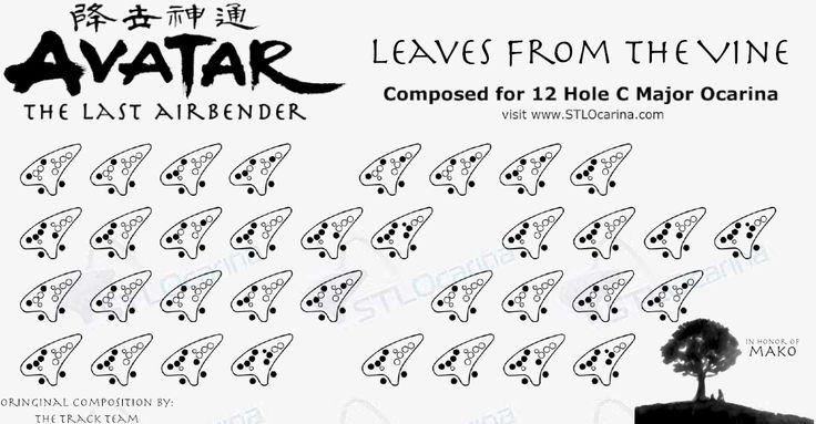 78+ images about 12 Hole Ocarina Sheet Music on Pinterest