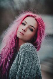 ideas hot pink hair