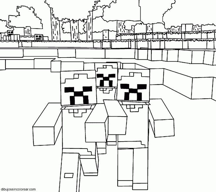 Las 25+ mejores ideas sobre dibujos de Minecraft en