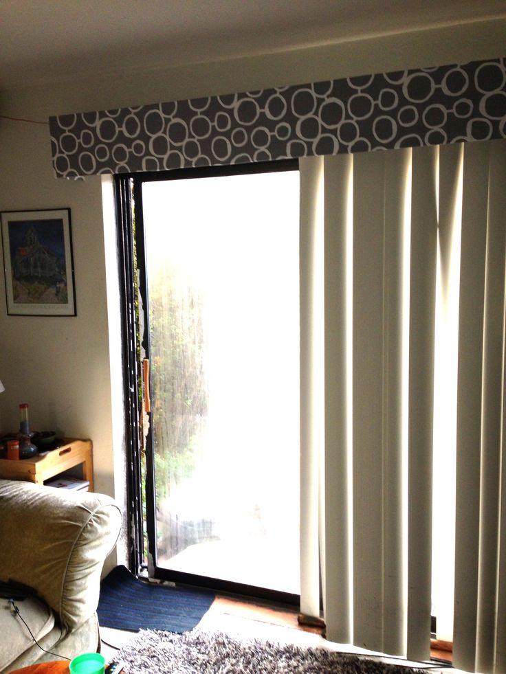 Vertical blind cornice  Window Decor  Kool Rooms