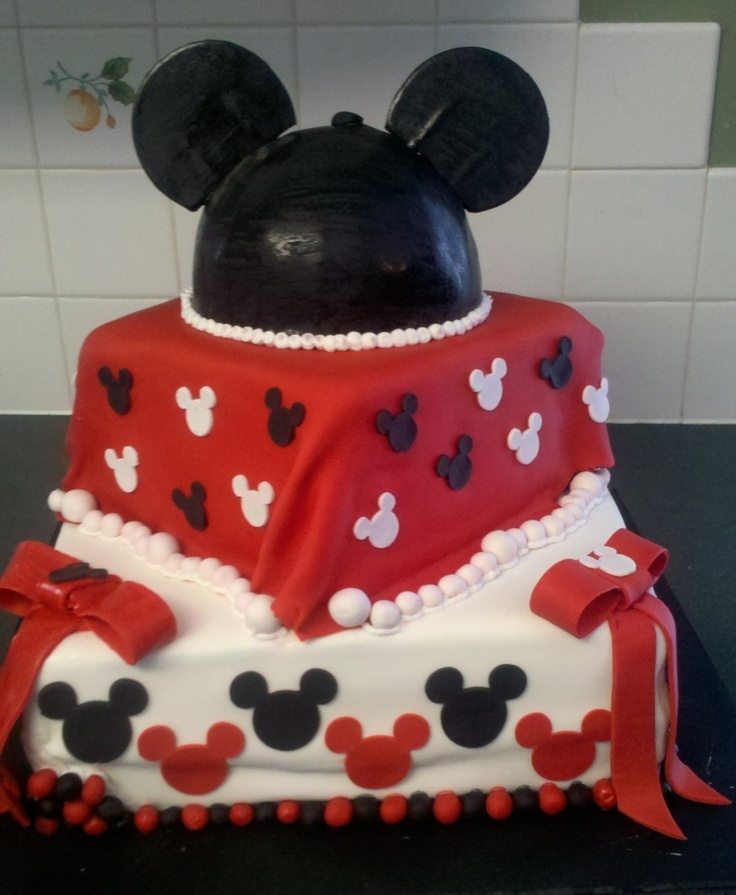 mickey mouse baby shower cake  Baby shower ideas  Pinterest  Mickey mouse Mice and Babies