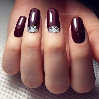 25+ best ideas about Wine nails on Pinterest | Nail polish ...