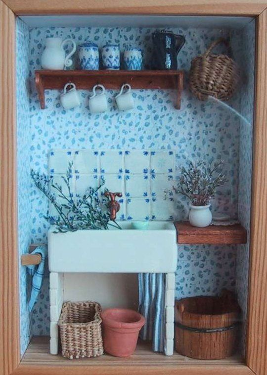 1000 Idées Sur Le Thème Maisons Miniatures Sur Pinterest