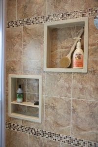 17 Best ideas about Shower Niche on Pinterest