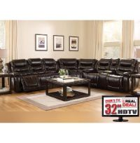 8 Piece Living Room Package with TV   Sectionals   Living ...