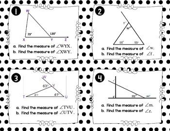 All Worksheets » Interior And Exterior Angles Of Triangles
