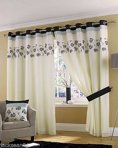 The 25 Best Ideas About Cream Eyelet Curtains On Pinterest