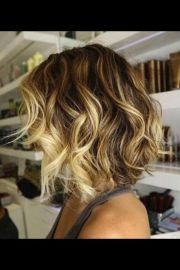 ombr hair color slight -line