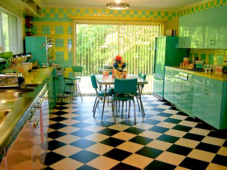 17 Best ideas about 50s Style Kitchens on Pinterest  50s
