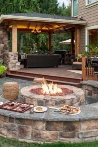 17 Best ideas about Patio Fire Pits on Pinterest   Outside ...
