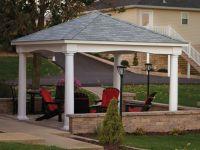 Backyard pavilion, Pavilion design and Small backyards on