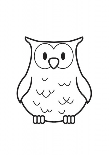 16 best images about Owl Coloring Sheets on Pinterest