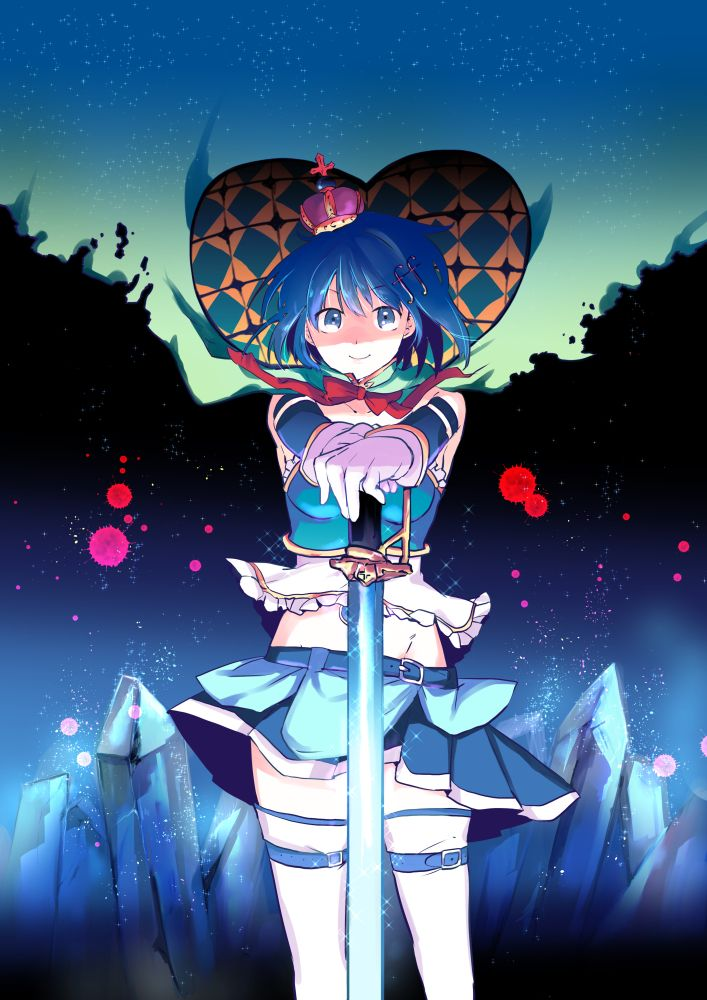 Fall Cell Phone Wallpaper Sayaka Miki Night Witch Madoka Magica Pinterest