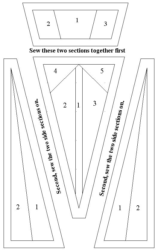 693 best images about Foundation paper piecing on