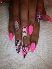 Ghetto fab nails | Nails!!!!! | Pinterest | Beautiful ...