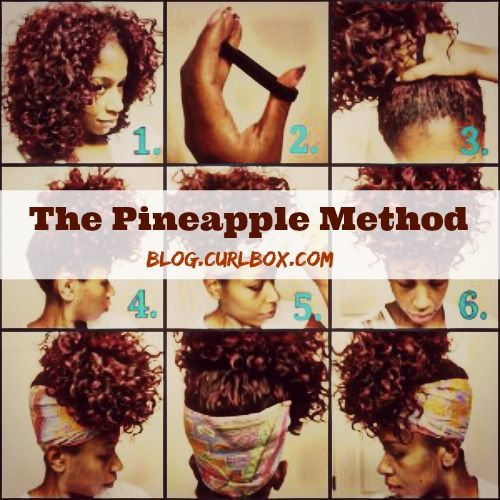 25 Best Ideas About Pineapple Hairstyle On Pinterest Natural