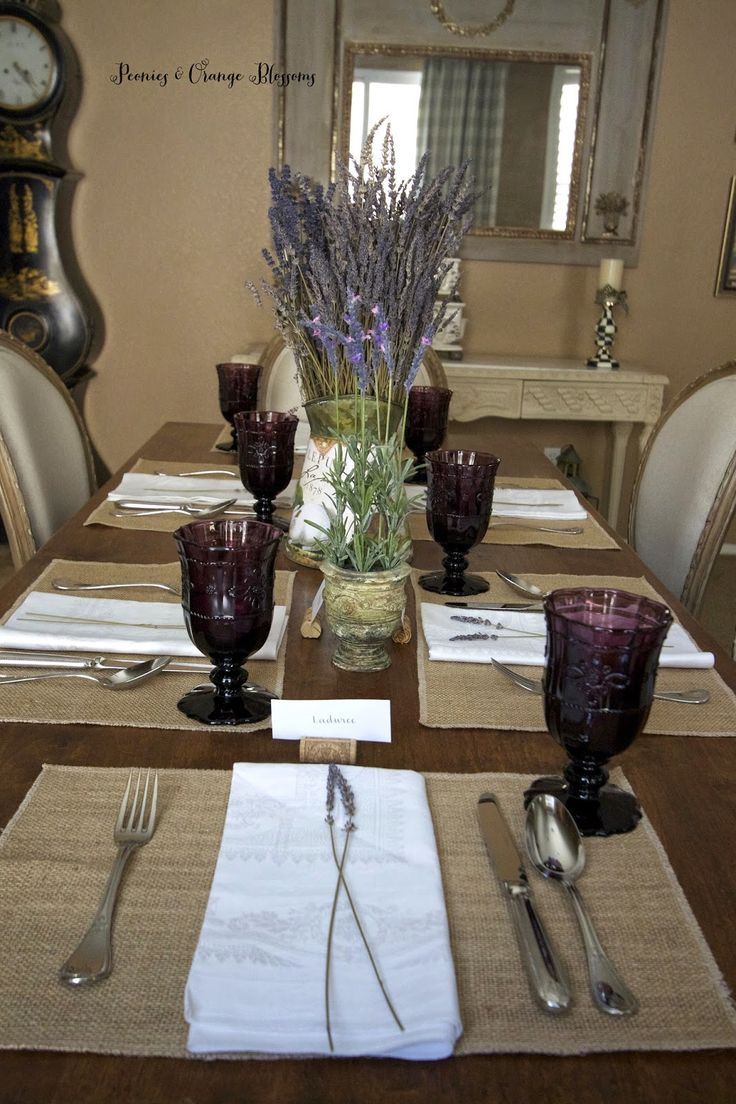 17 Best ideas about Country Table Settings on Pinterest