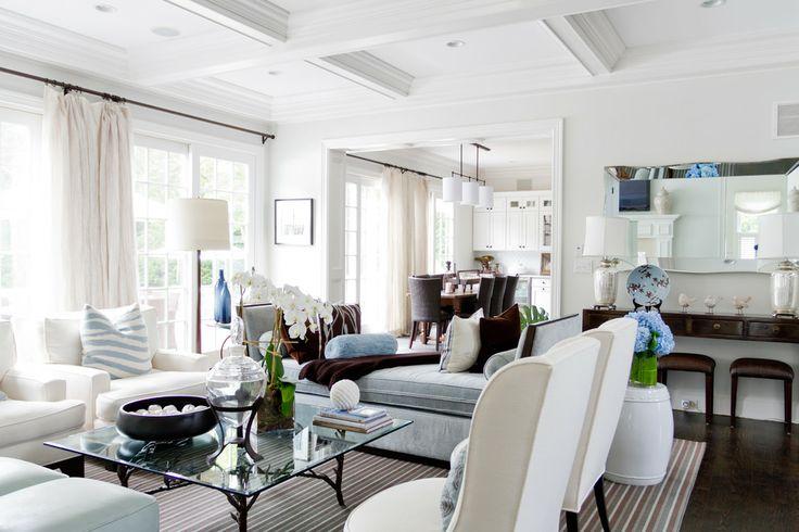 Living room via Houzz  For the home  Pinterest  Houzz