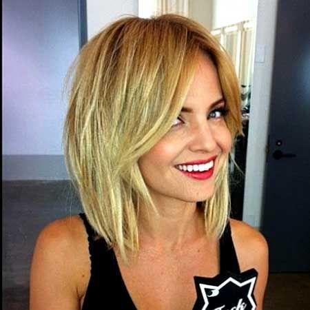 Die Besten 25 Bob Frisuren Blond Ideen Auf Pinterest