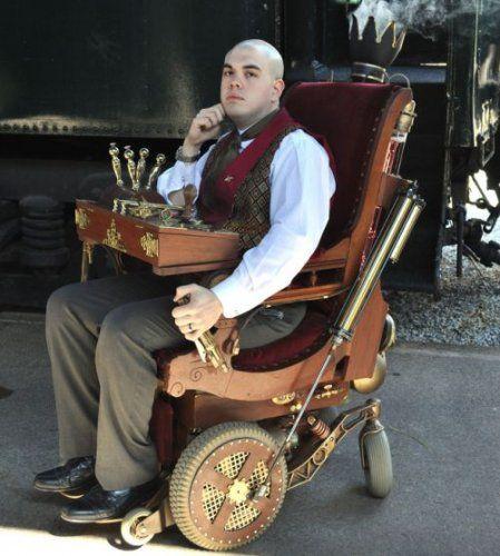Electronic Guy Wheelchair