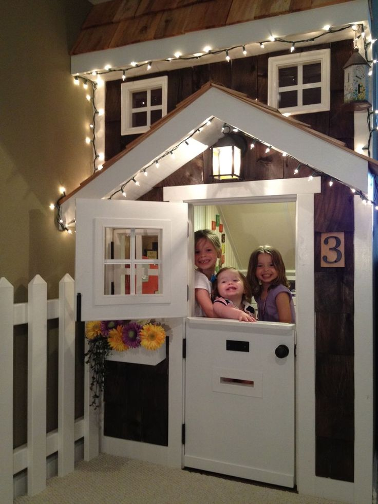 Kids Playhouse Under Stairs Do It Yourself Home