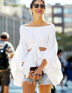 Street Style New York Fashion Week #NYFW #MBFW #SS15