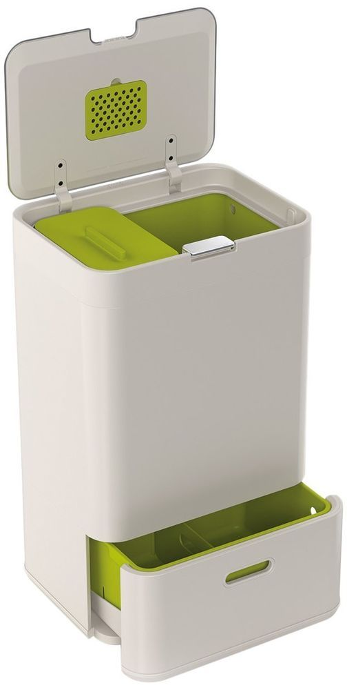 Kitchen Recycling Bin Waste Disposal System By Joseph Joseph 50 L Recycle Bin  FOOD PROJECT