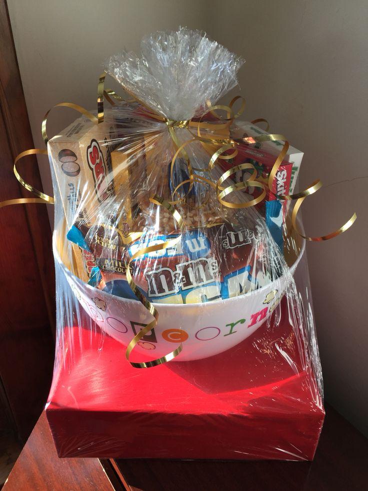 Movie Theme Bridal Shower Gift Basket Movie Trivia Game