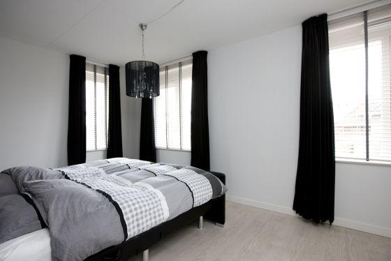 Gordijnen Slaapkamer Zwart